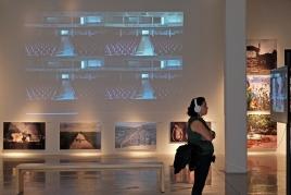 ASPECTOS DE VISITANTES EN EL FOTO MUSEO CUATRO CAMINOS