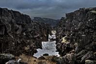 División de placas en Islandia
