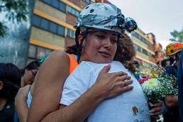 ACTO CONMEMORATIVO POR LAS VICTIMAS FALLECIDAS EL 19 DE SEPTIEMBRE EN LOS MULTIFAMILAIRES DE TLALPAN
